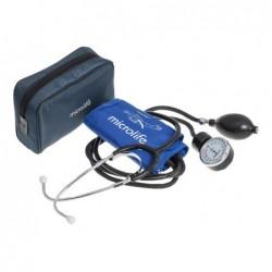 Set tensiometru aneroid + stetoscop Microlife BPAG1-20 (include geanta de transport)