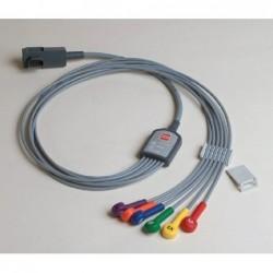 Cablu ECG cu 6 fire (atasament) original pentru defibrilator LIFEPAK 15