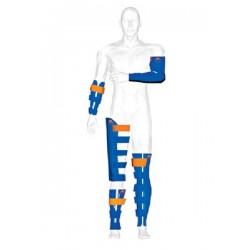 Kit atele de imobilizare rigide cu structura interna flexibila Blue Splint Spencer