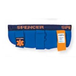 Atela de imobilizare rigida cu structura interna flexibila Blue Splint Spencer pentru antebrat