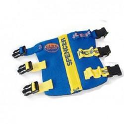 Atela de imobilizare rigida cu structura interna flexibila Blue Splint Pro Spencer pentru antebrat