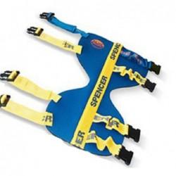 Atela de imobilizare  rigida cu structura interna flexibila Blue Splint Pro Spencer pentru cot/ glezna