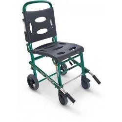 Scaun transport pacienti pliant din aluminiu