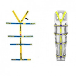 Sistem de centuri de imobilizare pediatric pentru placile spinale