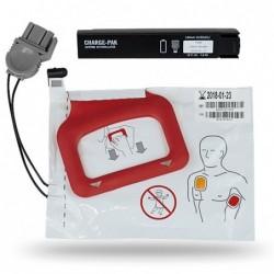 Kit baterie + set electrozi pentru defibrilator AED LIFEPAK CR PLUS