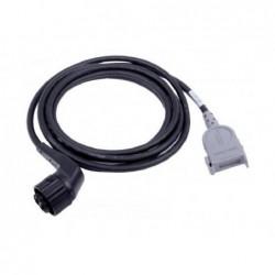 Cablu terapie QUIK-COMBO (pentru electrozi autoadezivi) defibrilator LIFEPAK 20