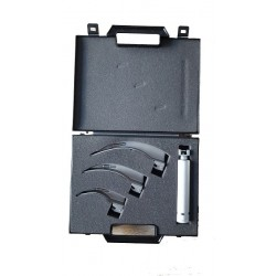 Set laringoscop cu 3 lame Macintosh in cutie