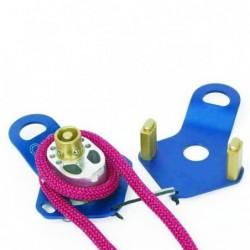 Dispozitiv cu sistem de autoblocare a franghiei Traverse Rescue 540