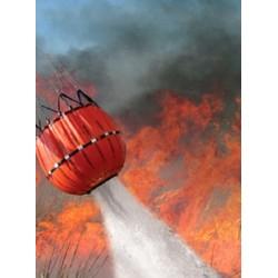 Sistem de stingere a incendiilor cu ajutorul elicopterului