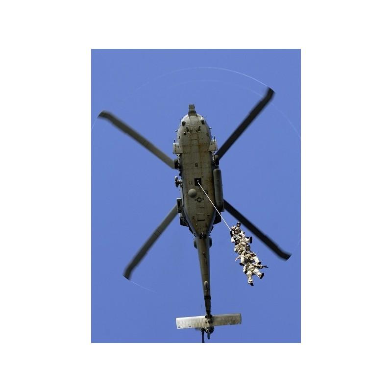 SPIE - Grapa (coarda) pentru insertia/extractia personalului in sau de pe teren cu ajutorul elicopterului