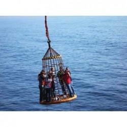 Plasa de salvare pentru utilizare cu elicopterul