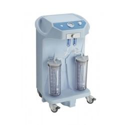 Aspirator chirurgical de secretii EUROVAC H90 - 90 L/min cu 2 vase colectoare x 4 litri